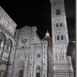 Florence-Duomo, Campenile-nite-g