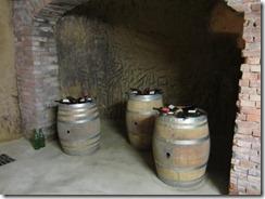 Montelpul-Talosa caves-barrels-bottles