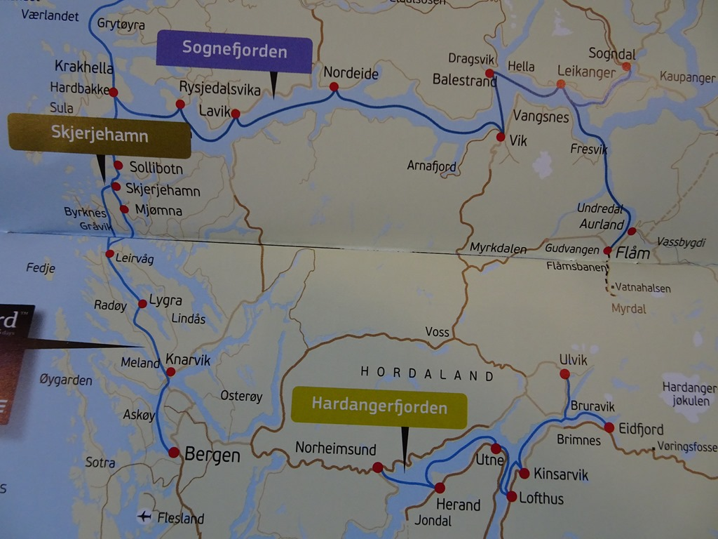 Our Bergen To Oslo Norway Route Active Boomer Adventures - Norway map towns