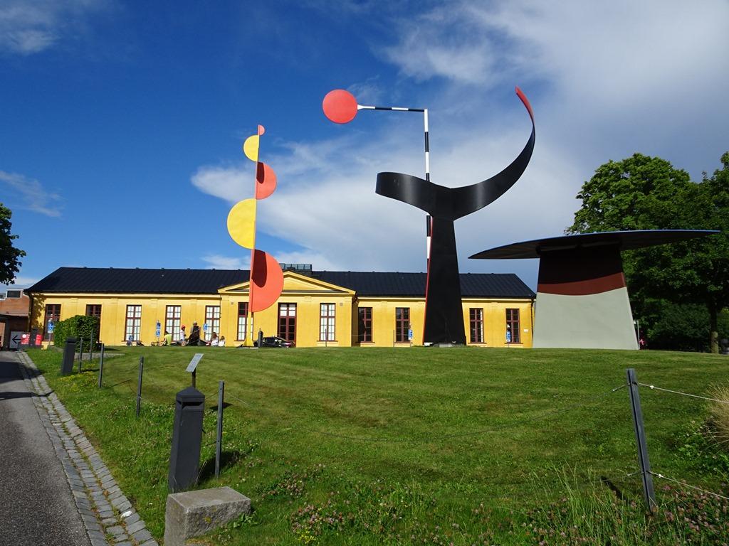 Stockholm Sweden Museums On Skeppsholmen Island Active