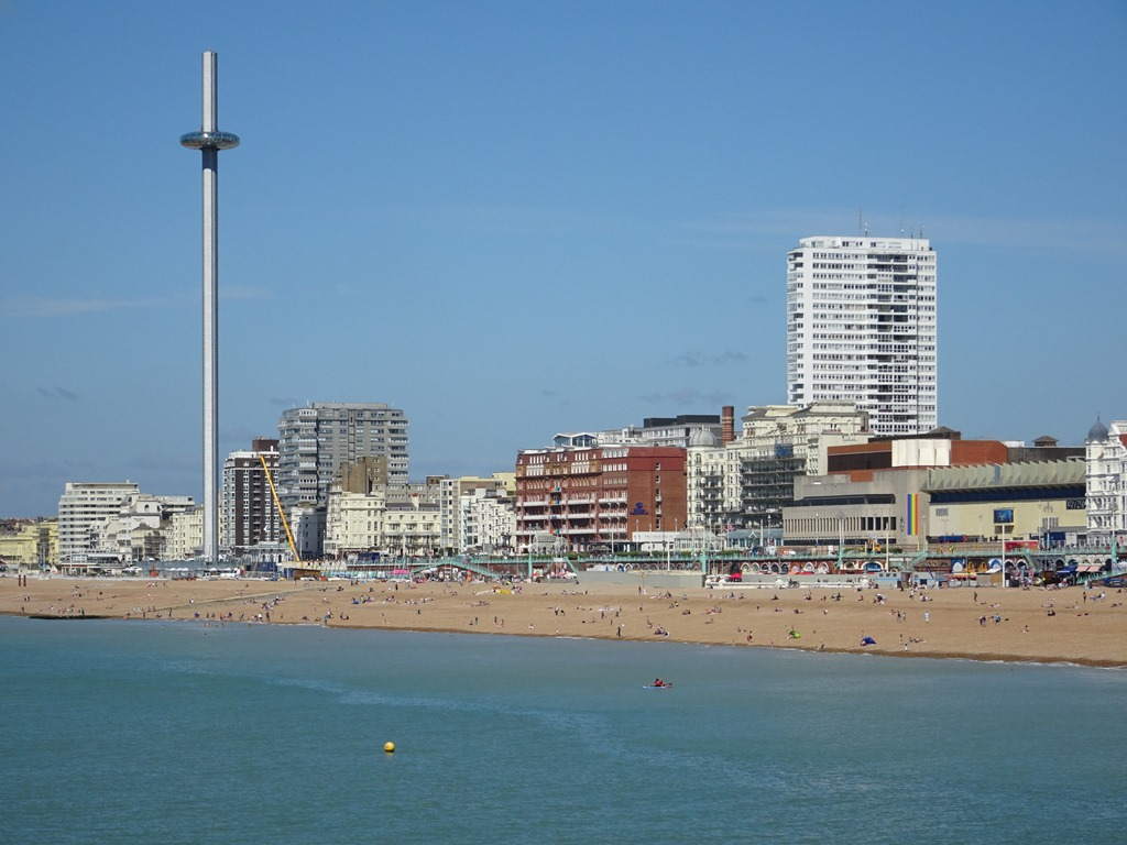Brighton England - Active Boomer Adventures