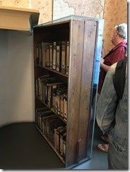 Anne Frank Bookcase That Hid Staircase to Franks's Hiding Place