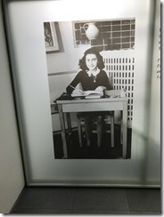 Anne Frank Sample of Photo Display