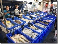 Haarlem Market Fish Stand