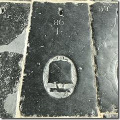 Oude Kerk Floor Grave Mark