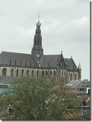 View of St. Bavo's From De Adriann Windmill