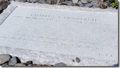 Lindburgh's grave