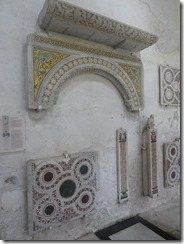 duoma cloister marble fragments