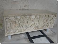 duoma cloister sarcophagi