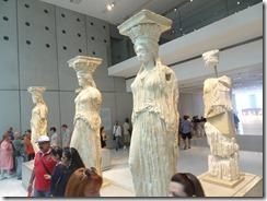 Acropolis Museum -Everyday Lfie statues
