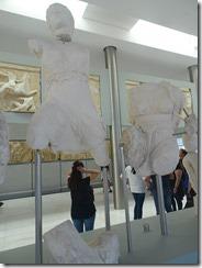 Acropolis Museum - Reconstruction of Partheon West Pediment 03