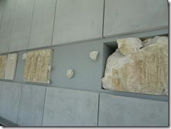 Acropolis Museum - Reconstruction of Partheon walls 07