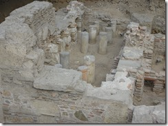 Athen - Roman Bath ruins 02