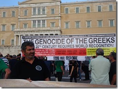 Athens House of Parliament ceremony for genicide