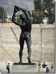 Athens - Olympic Stadium Statue