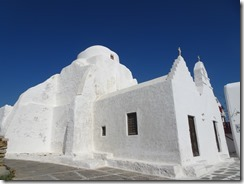 Mykonos Panagia Paraortiani church