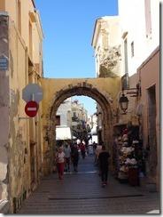 Tethymno arch