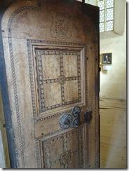 Biertan door with locks
