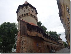 Sibiu guild tower