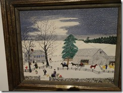Grandma Moses - The Mailman has Gone