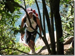 Tom Hiking