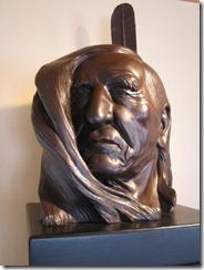 Crazy Horse display - sculpture