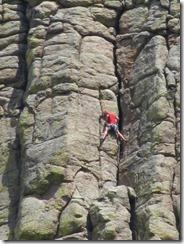 Devil's Tower - climber