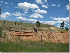 Wyoming outcropping
