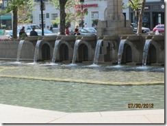 Copley Sq Fountain