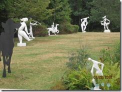 Field Galley statues