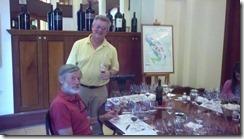 Phelps tasting - Tom-instructor