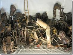 Auschwitz prostetics