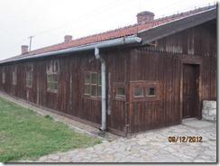 Birkeneau wood barracks
