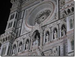 Florence-Duomo detail-nite