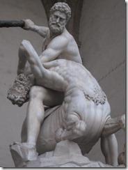 Florence-Piazza della Signoria scupture-Hercules