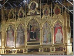 Florence-Santa Croce altar