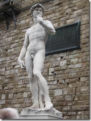 Florence-Signoria David sculpture