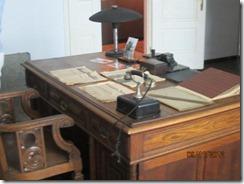 Krakow War Museum -  Schindler's desk