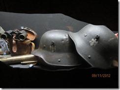 Krakow War museum helmets