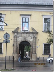 Krakow pope bldg