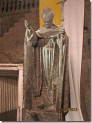 Salt mine chapel pope scultture