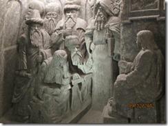 Salt mine chapel sculpture - g