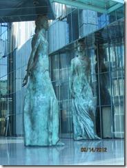 Warsaw Justice sculptures