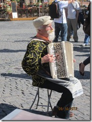 Warsaw st entertainer