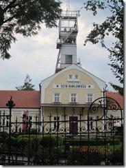 salt mine outside entrance