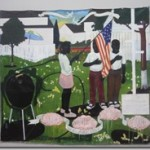 Nat Gall-Kerry Marshall painting