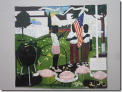 Nat Gall-Kerry Marshall painting