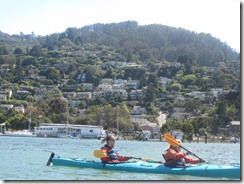 kayak-Sausalito hills