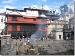 Pashupati funeral pire burning