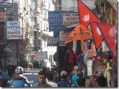 crowded streets of Katmandu 2